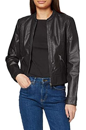 Vero Moda Women's Vmriamarta Short Coated Jacket Pi Faux Leather