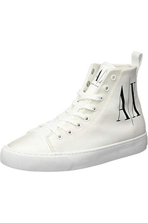 Armani Exchange Women's High Top Cotton Sneakers Hi Trainers
