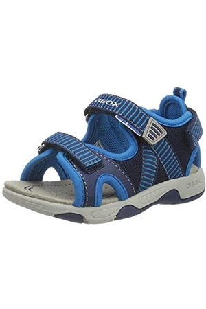 Geox Baby Boys' B Sandal Multy B Open Toe, (Navy/Sky C4231)