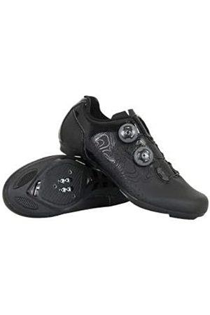 Massi Unisex Adults' Zapatillas CARRETERA Argon T.45 Mountain Biking Shoes, (Negro Negro)