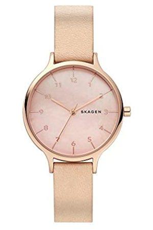 Skagen Womens Analogue Quartz Watch with Leather Strap SKW2704