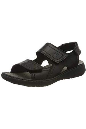 Rohde Men's Arezzo Ankle Strap Sandals, (Schwarz 90)