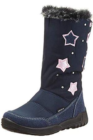 LICO Girls' Lumina Snow Boots, (Marine/rosa Marine/rosa)