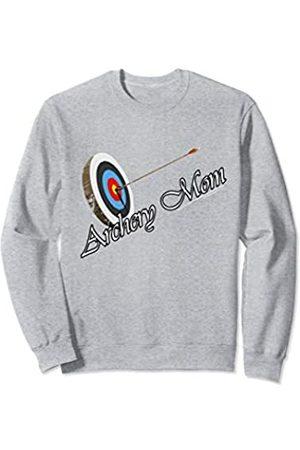 Archery Archer Mom Bow Arrow Archery Archer Mom Target Proud Parent Bow Arrow Sweatshirt
