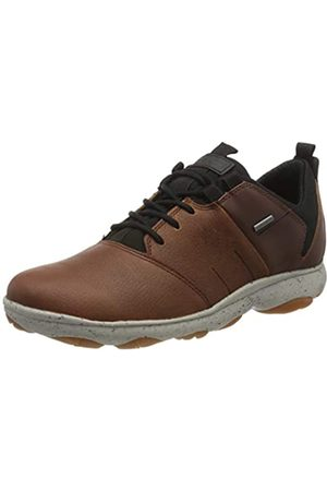 Geox Men's U Nebula 4 X 4 B ABX A Low-Top Sneakers, (Browncotto/Cognac C6g6n)