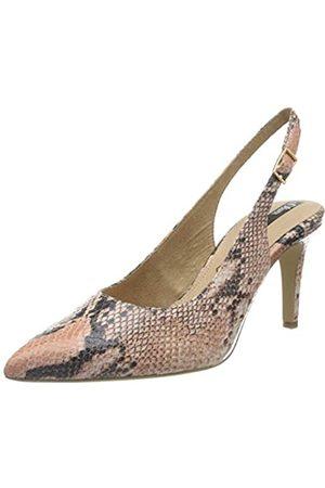 s.Oliver Women's 5-5-29601-24 Sling Back Heels, (LT Rose Snake 548)