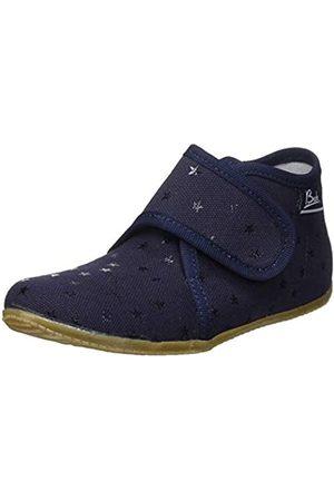 Beck Boys' Little Stars Hi-Top Slippers, (Dunkelblau 05)