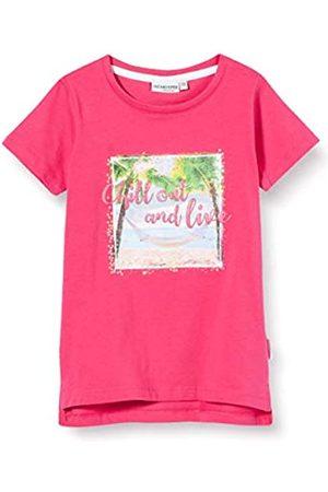 Salt & Pepper Girl's Fotoprint Strand Mit Pailletten Und Glitzerdruck T-Shirt