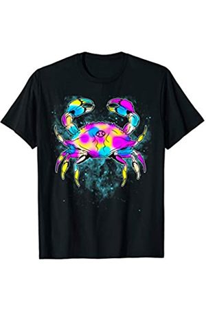 Tee Styley Cancer Astrological Sign Zodiac Constellation Crab Karkinos T-Shirt