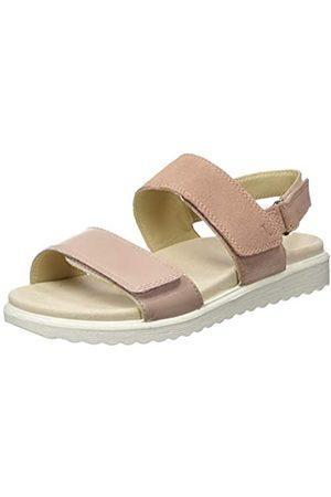 Legero Women's Savona Ankle Strap Sandals, (ASH Rose 53)