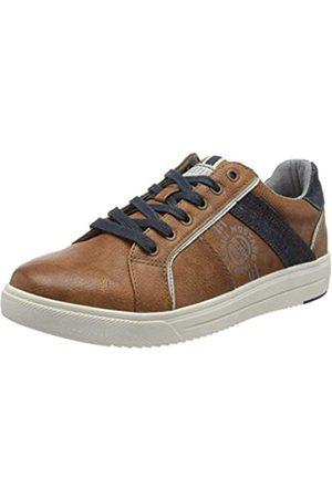 Mustang Men's 4133-304-307 Low-Top Sneakers, (Cognac 307)