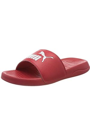 Puma Unisex Adulto Popcat 20 Zapatos de Playa y Piscina, Rojo (High Risk 04)