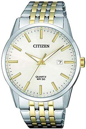 Citizen Mens Analogue Quartz Eco-Drive Watch Aviator with Textile Strap