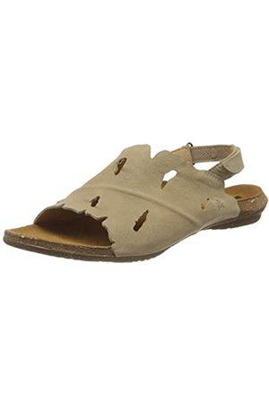 El Naturalista Women's N5068 Pleasant Wakataua Open Toe Sandals, (Piedra Piedra)