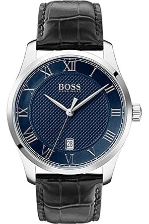 HUGO BOSS Men's Analogue Quartz Watch with Leather Strap 1513741