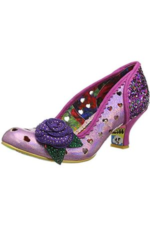 Irregular Choice Women's Biscuit Tin Closed Toe Heels, ( B)