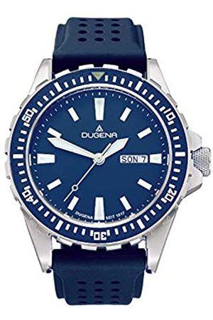 DUGENA Men's Analogue Quartz Watch with Silicone Strap 4460980