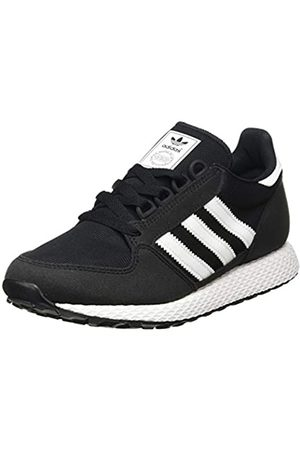 adidas Unisex Kids' Forest Grove J Fitness Shoes, (Negro Negro)
