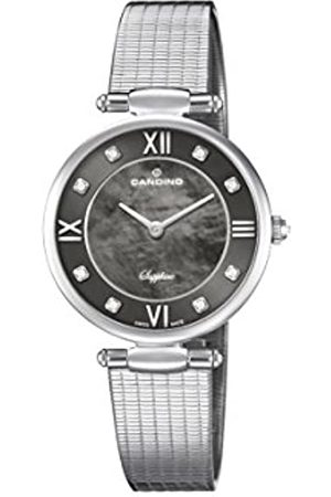 Candino Womens Analogue Classic Quartz Watch with Stainless Steel Strap C4666/2