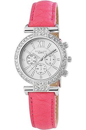 Excellanc Women's Quartz Watch SPE1611-0001 195622500014 with Leather Strap
