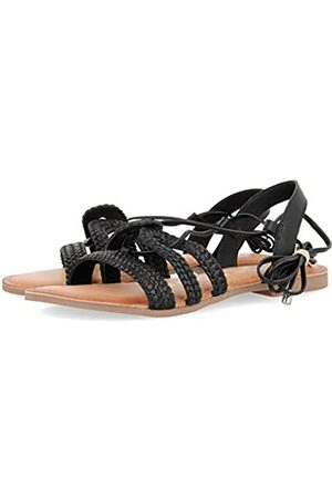 Gioseppo Women's Jewett Gladiator Sandals, (Negro Negro)