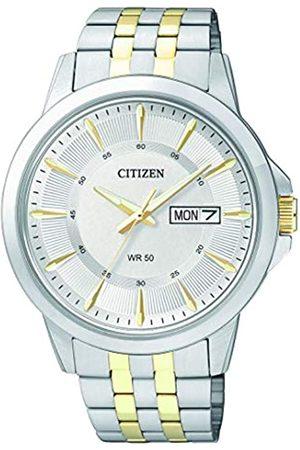 Citizen Men's Quartz Watch with Black Dial Analogue Display Quartz Stainless Steel BF2018 52AE