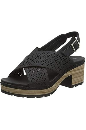 REFRESH Women's 69501 Platform Sandals, (Negro Negro)