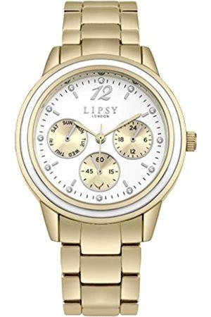 Lipsy London Womens Analogue Classic Quartz Watch with Aluminium Strap SLP006GM