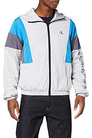 Calvin Klein Men's Color Block Track Jacket