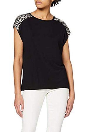 Dorothy Perkins Women's Turnback Cuff Print Shoudler Tee T-Shirt