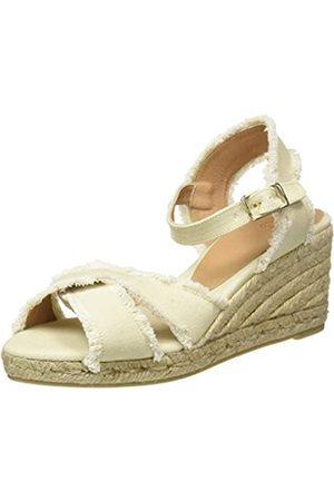 Castaner Women's Bromelia/6/001 Espadrille Wedge Sandals