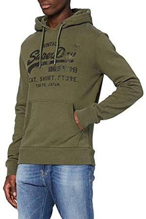 Superdry Men's Vl Shirt Shop Bonded Hood Hoodie