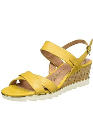MARCO TOZZI Women's 2-2-28724-24 Ankle Strap Sandals, (Sun 602)