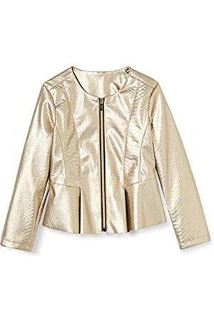 MEK Girl's Giacchina Ecopelle Coat