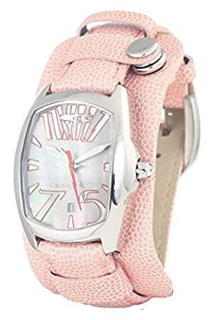 Chronotech Womens Analogue Quartz Watch with Leather Strap CT2039L-23