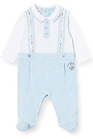 Brums Baby Boys' Tutina Jersey Piquet Con Bretelle Footies