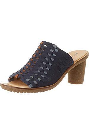 El Naturalista Women's N5162 Pleasant Trivia Open Toe Heels, (Ocean Ocean)