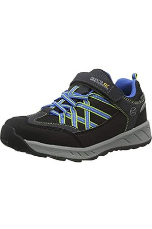 Regatta Unisex Kid's Samaris V Low' Waterproof Breathable Hoop & Loop Fastening Lightweight Walking Shoes