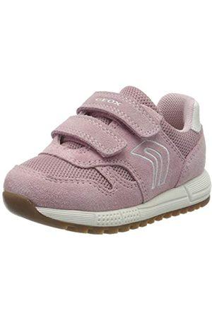 Geox Baby Girls' B ALBEN Low-Top Sneakers, (Rose C8011)