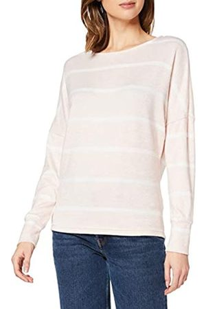 Dorothy Perkins Women's Blush Batwing Stripe Brushed Top Blouse