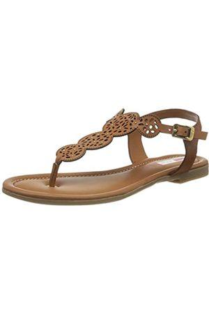 s.Oliver Women's 5-5-28102-24 Flip Flops, (Cuoio 309)