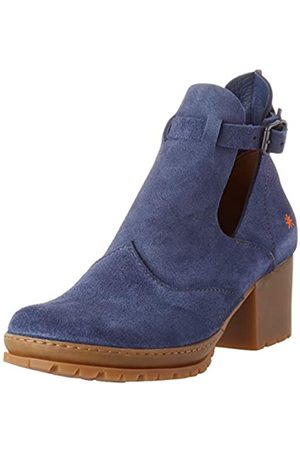 Art Women's 1238 Skin Back Camden Closed Toe Heels, (Denim Denim)