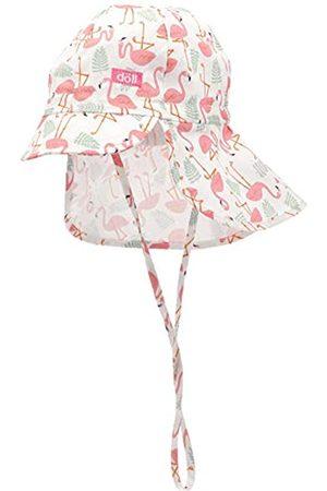 Döll Baby Girls' Bindemütze mit Schirm und Nackenschutz Hat|