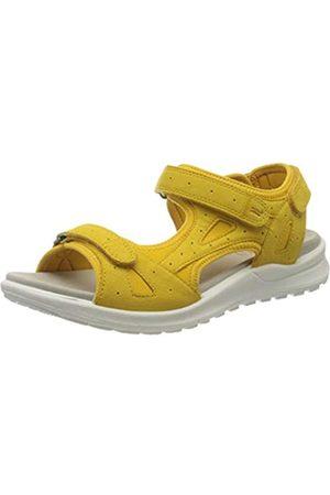 Legero Women's SIRIS Ankle Strap Sandals, (Sunshine (Gelb) 62)