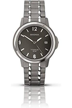 Sekonda Model 3876.27 Gents Titanium Analogue Bracelet Watch