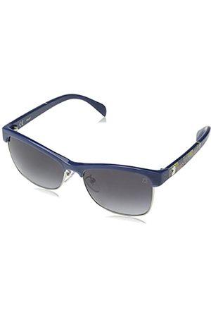 TOUS Women's Sto907 Sunglasses, (Azure / Opaline)