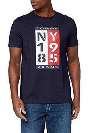 Tommy Hilfiger Men's TJM 1985 Vertical Logo TEE Sport Shirt
