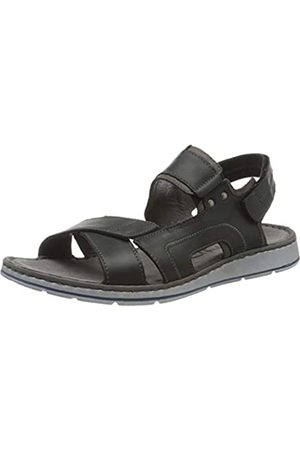 Rohde Men's Brunello Ankle Strap Sandals, (Schwarz 90)
