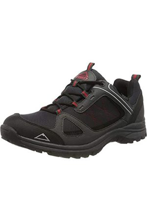 mc kinley Men's Multifunktionsschuh Maine Low Rise Hiking Shoes, (Schwarz/Anthrazit/Rot 000)