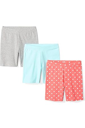 Spotted Zebra 3-pack Bike Shorts Coral Star, 4T